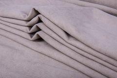 Штора готовая однотонная из портьерной ткани | цвет: пастельно-фиолетовый