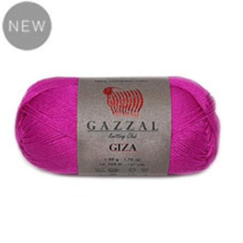 GAZZAL GIZA (100% Мерсеризованный хлопок, 50гр/125м)