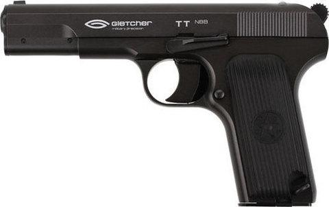Пистолет пневматический Gletcher TT non-blowback, металл