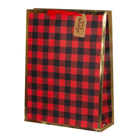 Пакет подарочный Крафт Deer 32*42*11.5 4