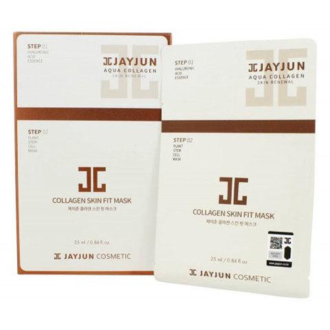 JayJun Collagen Skin Fit Mask,Экспресс-набор для упругости кожи 10шт