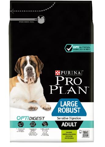 Large Adult Robust Sensitive Digestion - для взрослых собак крупных пород с мощным телосложением с ягненком