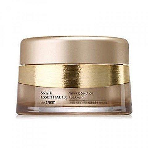 Антивозрастной крем для глаз  The Saem Snail Essential EX Wrinkle Solution Eye Cream