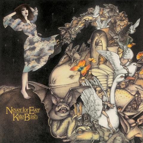Kate Bush / Never For Ever (LP)