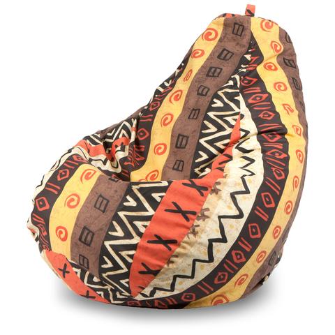 Бескаркасное кресло «Груша» XXL, Африкан