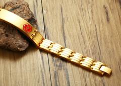 Идентификационный  магнитный браслет
