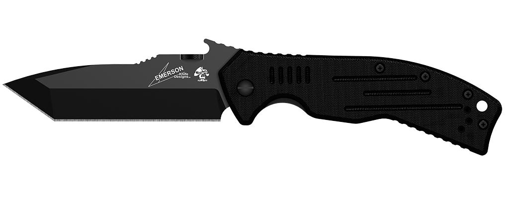 Нож KERSHAW / EMERSON CQC-8K модель 6044TBLK