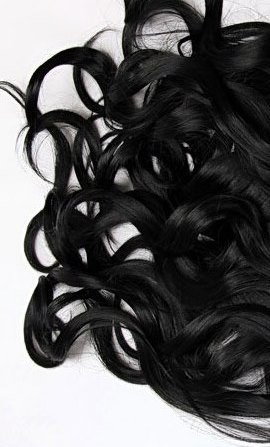 Накладка Magic Strands.-Оттенок #1-натуральный черный(волны)
