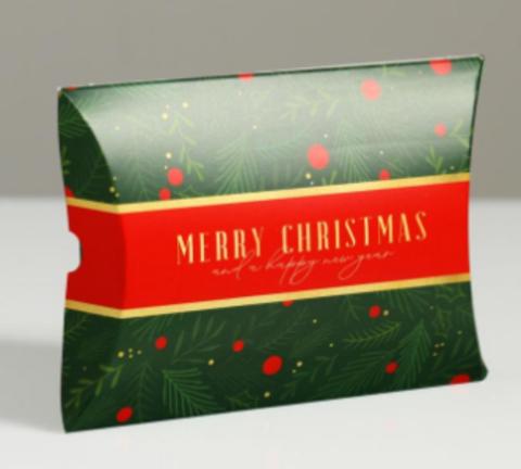 060-0044 Коробка сборная фигурная «Время подарков», 11 × 8 × 2 см