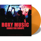 Roxy Music / Songs For Europe (Live Radio Broadcast)(Clear Vinyl)(LP)