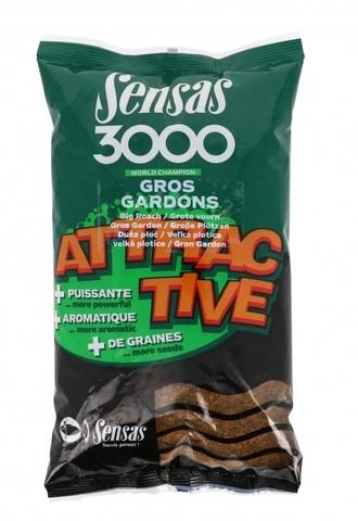 Прикормка Sensas 3000 ATTRACTIVE Gros Gardons 1кг