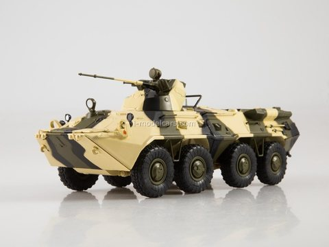 Armored personnel carrier BTR-80A Our Tanks #48 MODIMIO Collections
