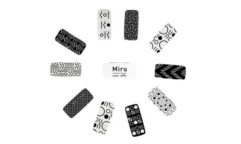 Контактные линзы Miru -3,75