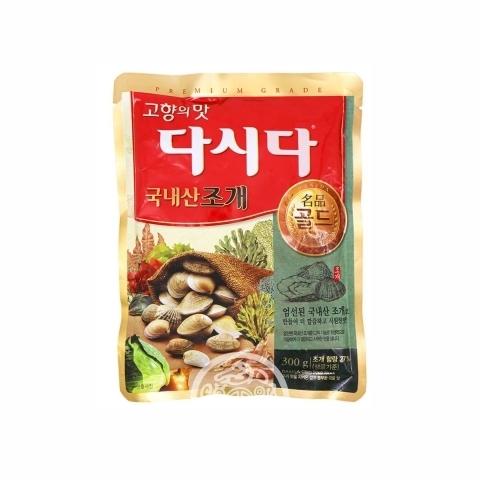 Универсальная вкусовая приправа Дашида со вкусом моллюски 300г CJ Corp Корея