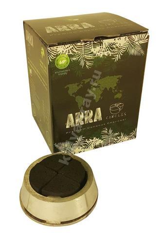 Кокосовый уголь ARRA Circles 1 кг 80 кубиков