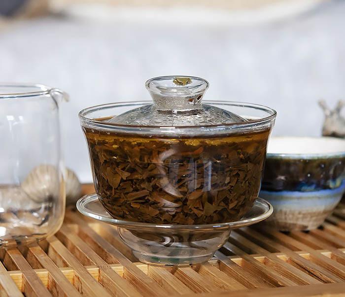 TEA-CH110 Китайский красный чай «Серебряные Брови» (Инь Цзюнь Мэй, 50 гр) фото 09