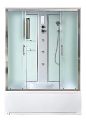 Душевая кабина DETO ЕМ4515 150х85 см с гидромассажем и электрикой