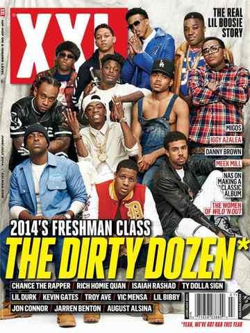 Журнал XXL Magazine июнь 2014 обложка