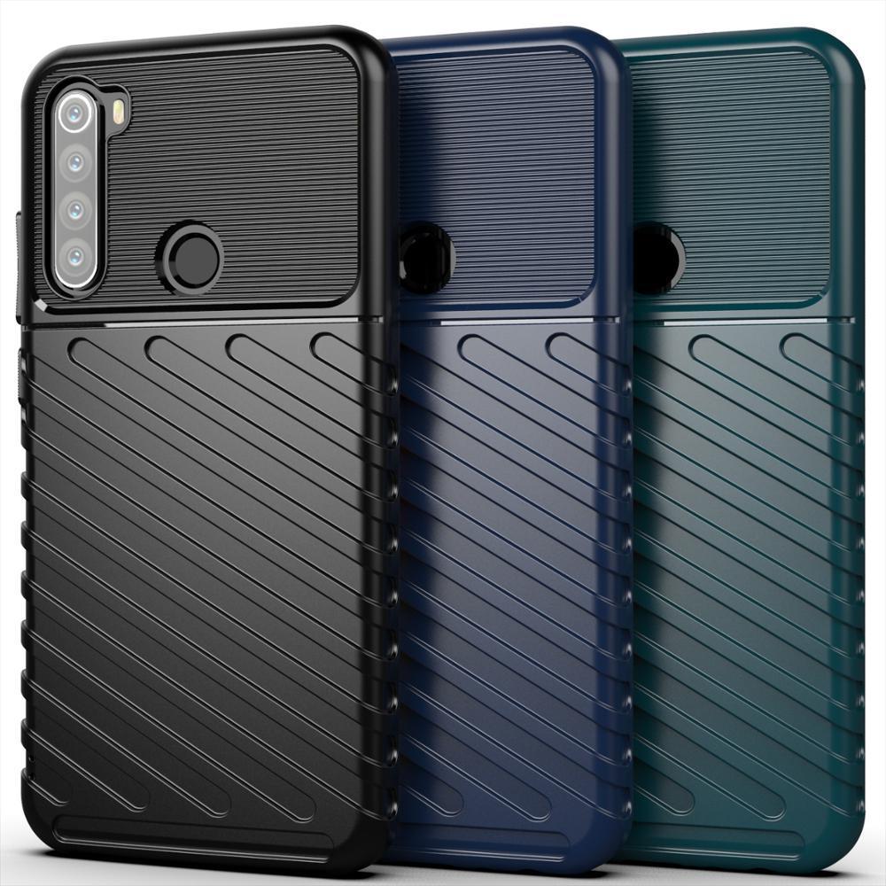 Чехол для Xiaomi Redmi Note 8 цвет Green (зеленый), серия Onyx от Caseport