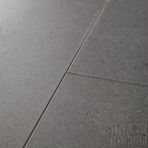 ПВХ-плитка Quick-Step QS LIVYN Ambient Click AMCL 40138 Минеральная крошка серая