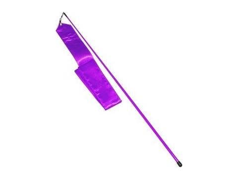 Лента гимнастическая. Цвет фиолетовый: АВ228