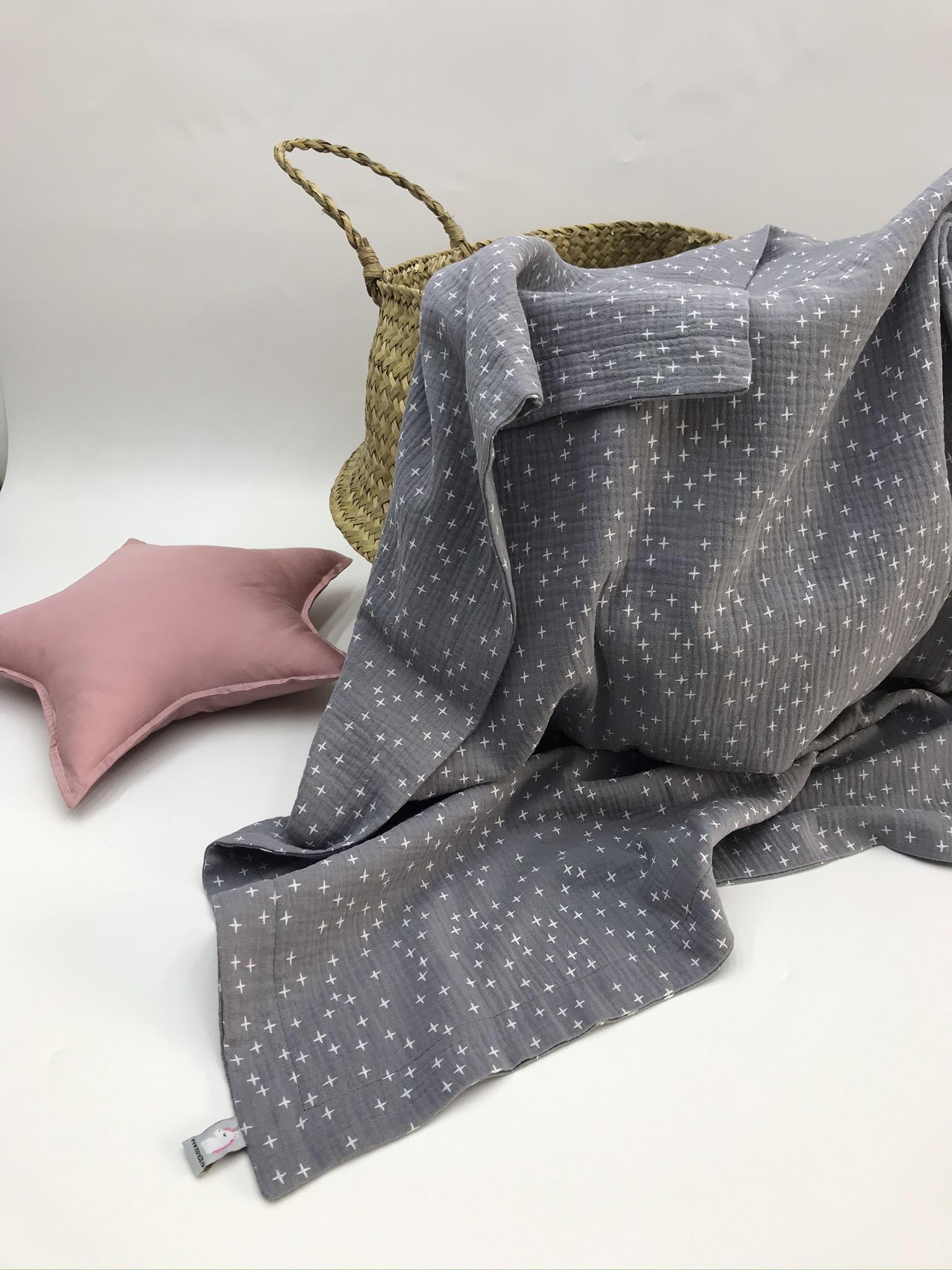Тонкие муслиновые одеяла