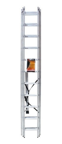 Лестница алюминиевая трехсекционная ВИХРЬ ЛА 3х11