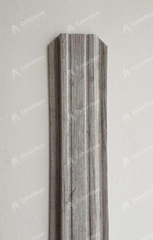 Евроштакетник металлический 85 мм Ясень П - образный 0.5 мм