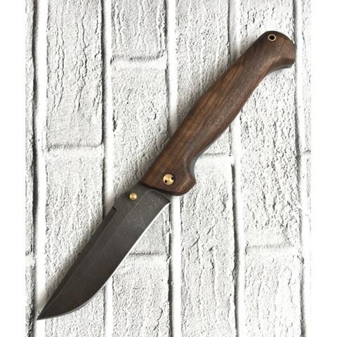 Складной Нож Актай-2, дамасская сталь, орех