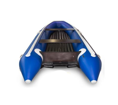 Надувная ПВХ-лодка Солар - 420 Strela Jet Tunnel с фальшбортом (синий)
