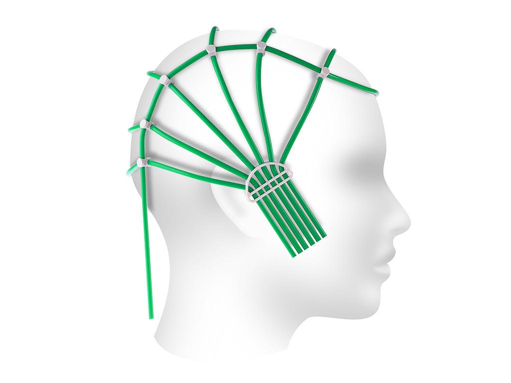 Шлем ЭЭГ 48-54 см для фиксации электродов, взрослый