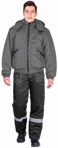 Куртка Бомбер демисез.(тк.Дюспо) серый