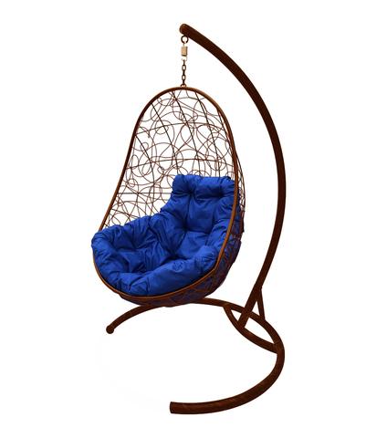 Кресло подвесное Parma brown/blue