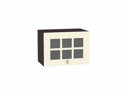 Шкаф верхний горизонтальный остекленный 500 Прованс (Ваниль)