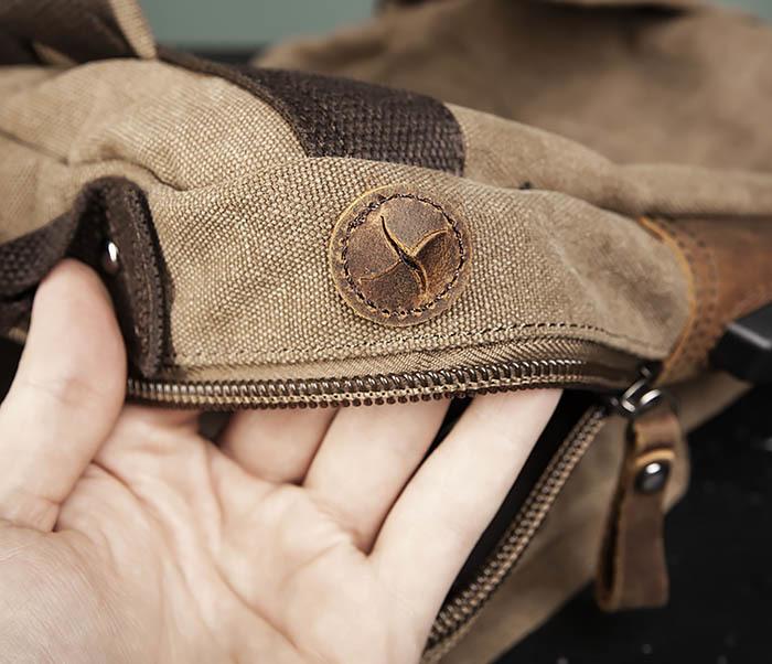 BAG476-2 Городской повседневный рюкзак с USB зарядкой фото 09