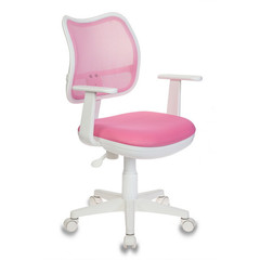 Кресло детское Бюрократ CH-W797 (ткань/сетка розовая)