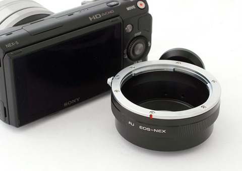Кольцо переходное - объективы Canon EOS для Sony NEX