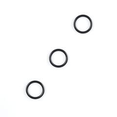 Кольцо для бретели черное матовое 10 мм