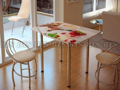 Стол обеденный с принтом (1000х700х750)