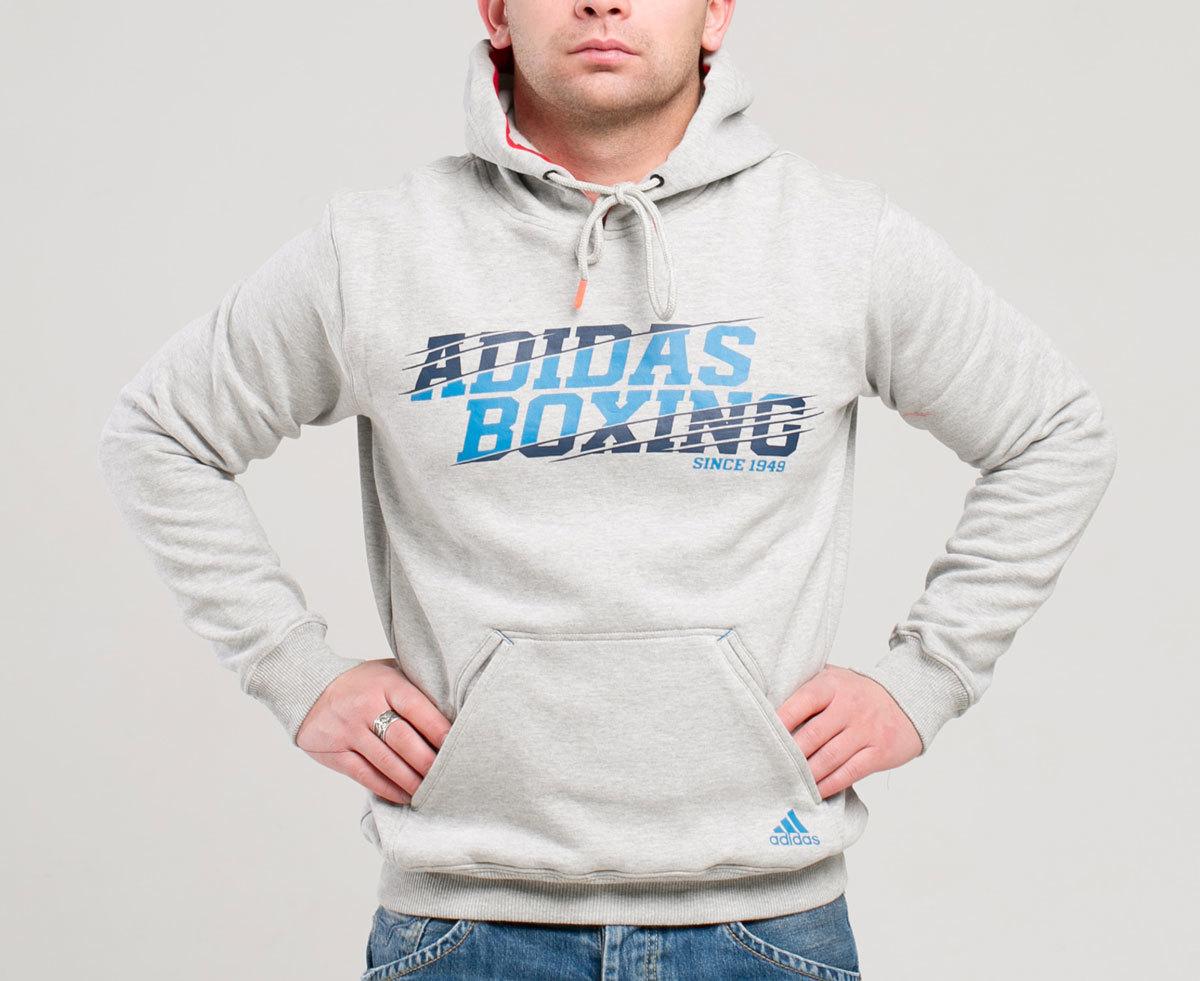 Одежда Толстовка с капюшоном (Худи) Graphic Hoody Boxing tolstovka_s_kapyushonom_khudi_graphic_hoody_boxing_seraya.jpg