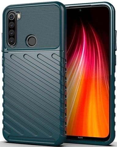 Чехол Xiaomi Redmi Note 8 цвет Green (зеленый), серия Onyx, Caseport
