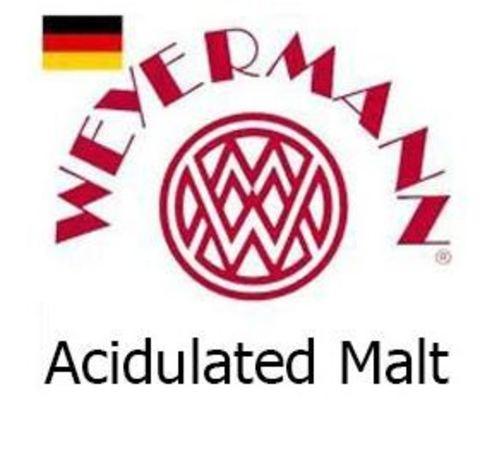 Солод пивоваренный Аcidulated Мalt (кислый солод), EBC 2.5-12, 1кг