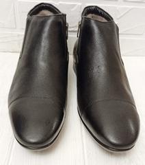зимние ботинки дерби мужские