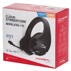 Компьютерная гарнитура HyperX Cloud Stinger Core Wireless + 7.1 Black HHSS1C-BA-BK/G