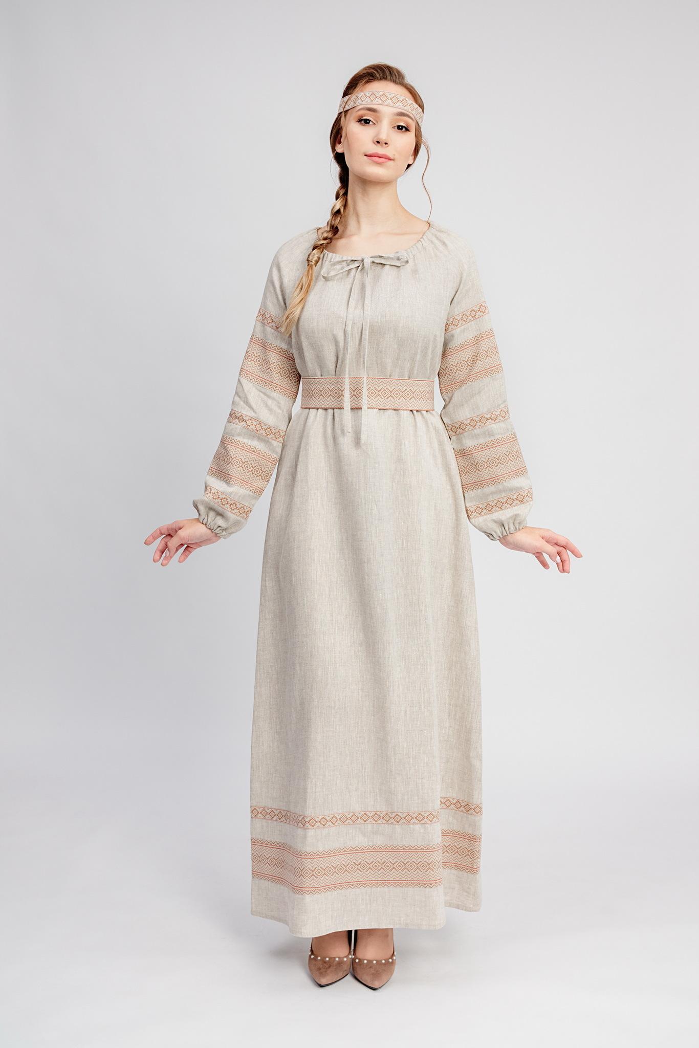 Славянское платье на праздник Лада