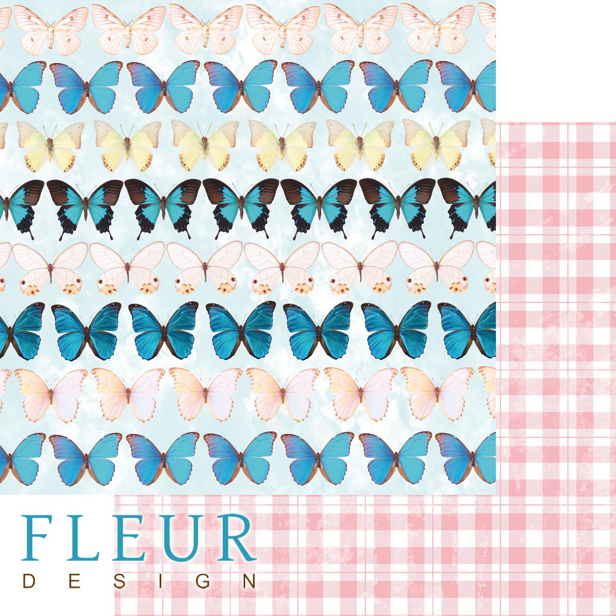 Бумага для скрапбукинга Бабочки