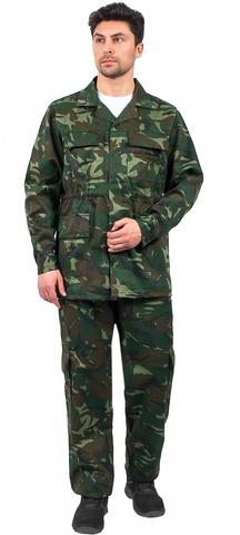 Костюм Комбат КМФ зеленый куртка, брюки