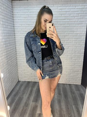 очень короткая джинсовая юбка купить