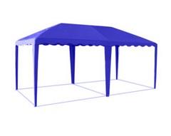 Шатер-беседка 5,0 х 2,5 синяя