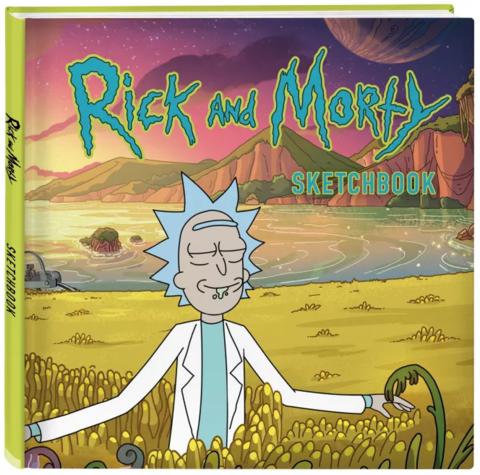 Рик и Морти. Скетчбук. Рик в поле